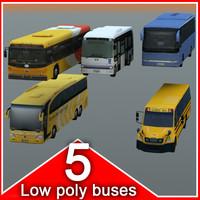 5 coach 3d model