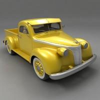 3d studebaker 1937