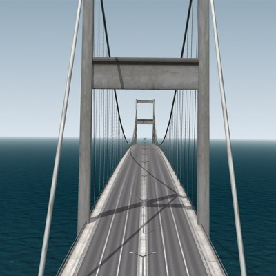 3d bosphorus bridge
