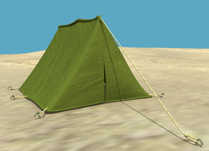 military tent 3d ma