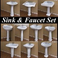 10 Pedestal Lavatory & Faucet Collections