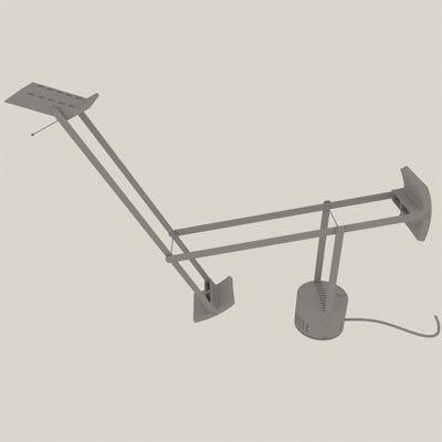 3d tizio table lamp model