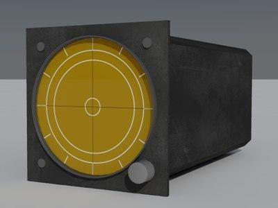 3d radar warning reciever