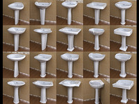 20 Pedestal Lavatory Collections