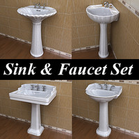 4 St.Thomas Creations Pedestal Lavatory & Faucet Collections