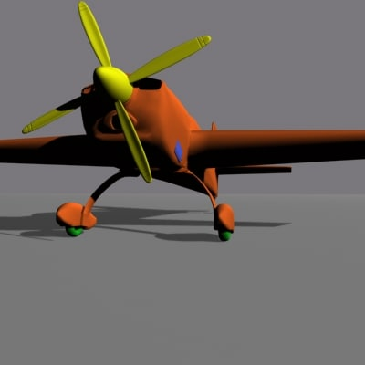 airplane extra 300s 3d model