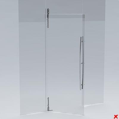 3d door office model for Door 3d model