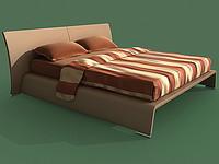 bed alma 3d model
