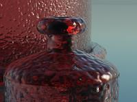 glass bottles vue free