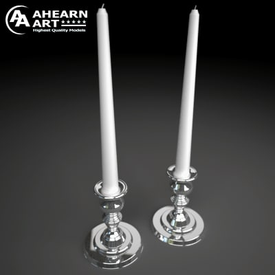 candelabra 3d model