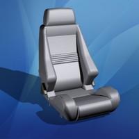 car seat 3d max