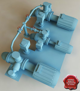 electric pump 3ds