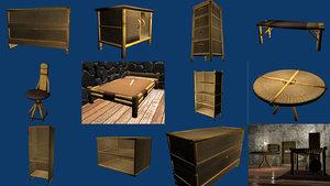 furniture polys 3d model