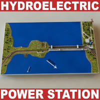 Hydroelectric power station V2