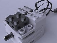 LEGO HIGH EFFICIENCY SERVO MOTOR