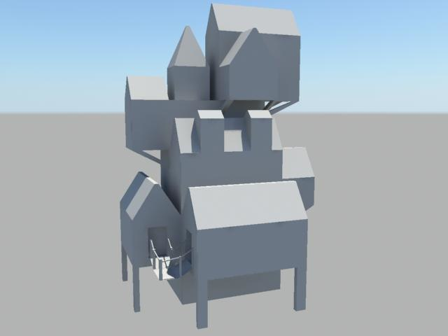 3d pirate house model