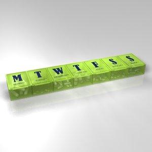 3ds pill box pillbox