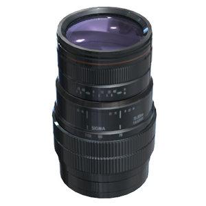3d lens sigma af70-300mm f4-5
