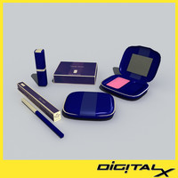 cosmetic set 2 3d 3ds