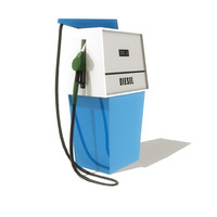 fuel pump 3d obj