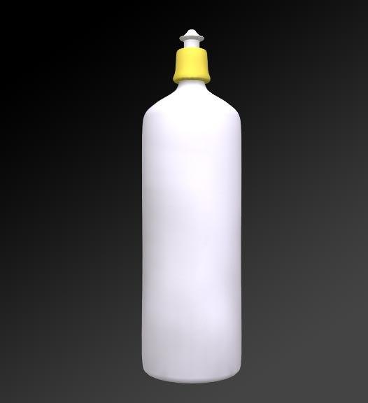3d model washing bottle