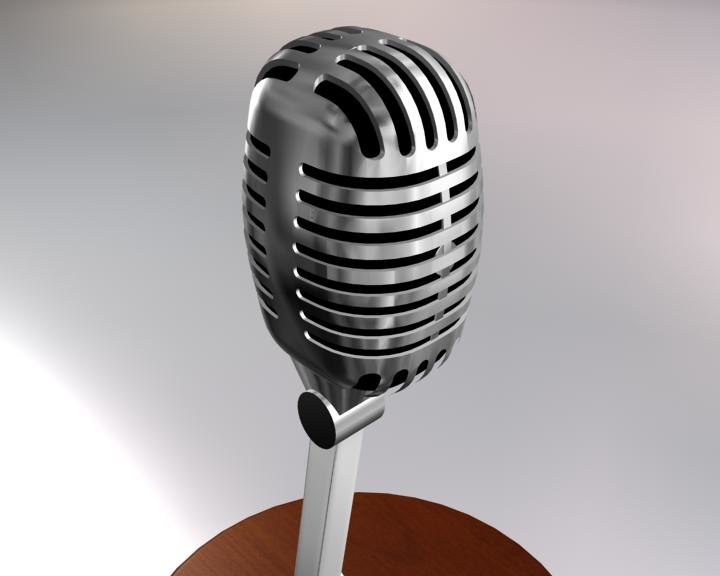 3d microphone old