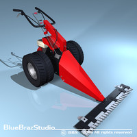 3d mower power