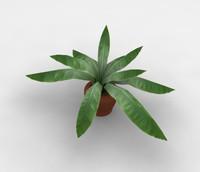 3ds max plant pot