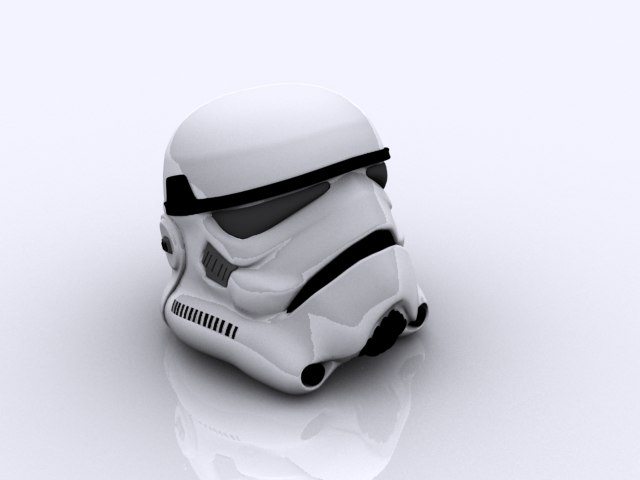 3d model stormtrooper helmet