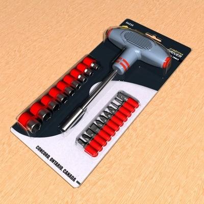 screwdriver fit 1 3d max