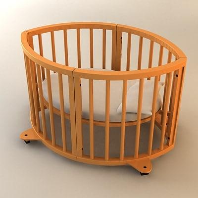 max sleepi crib
