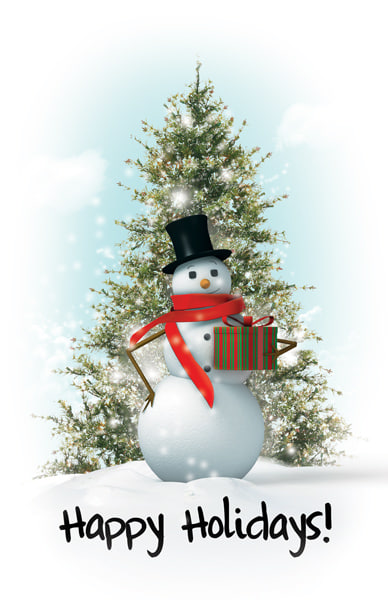 3ds max snowman holiday
