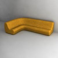 sofa dxf
