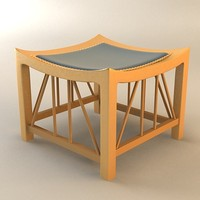 stool frank 3d 3ds