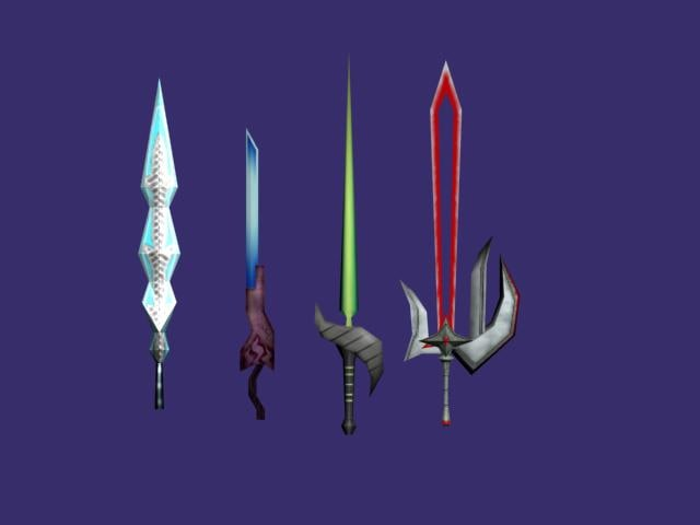 swords games 3d max