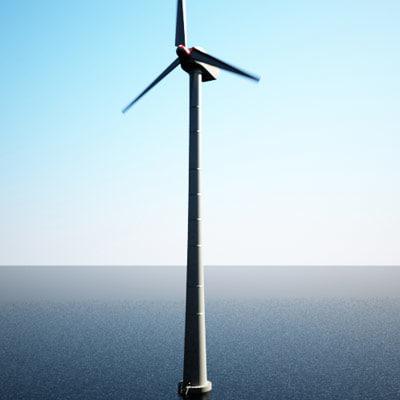 3d wind turbine