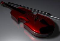 3dsmax instruments violin