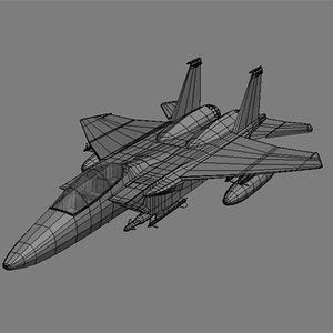 3d model f 15 eagle