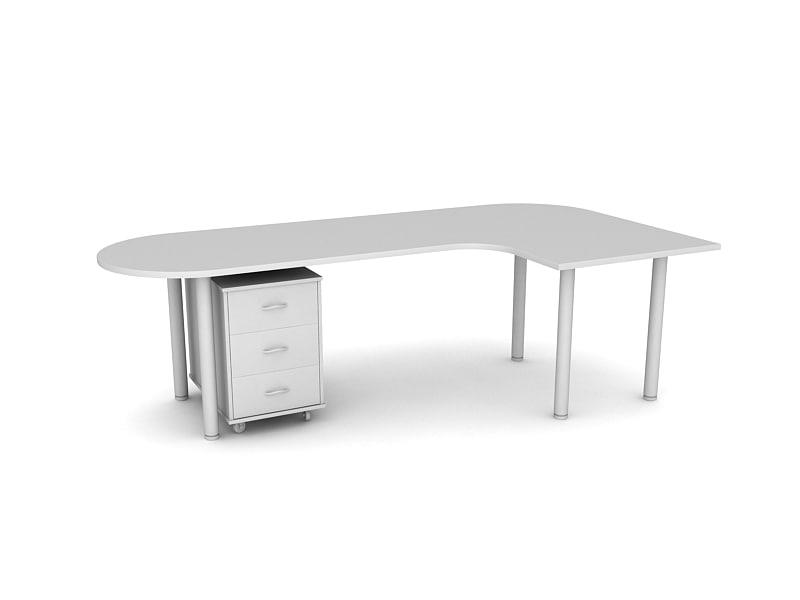 3d closet table model