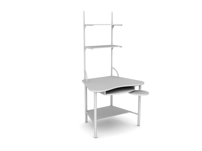 3d model closet table
