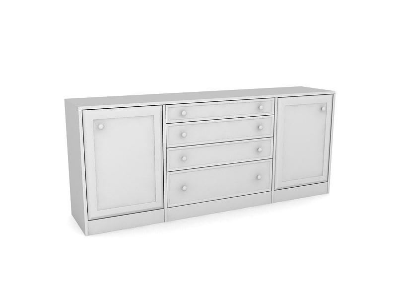 3ds max closet table