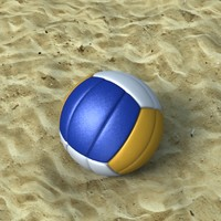 3D Volleyball model