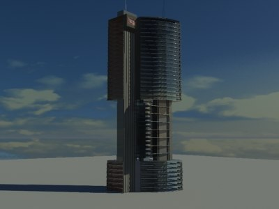 dark rise building 3ds