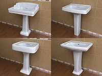 4 Rectangular Pedestal Lavatory Collections