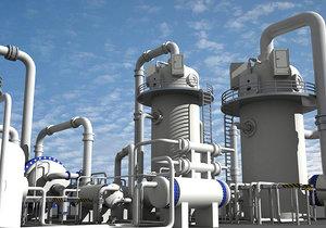 3d chemical plant 2 model