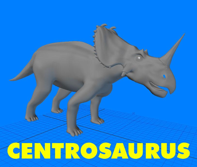 centrosaurus 3d 3ds