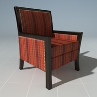 maya designer reading chair