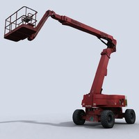 3d cherry picker model