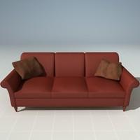 3d model lounge lounger