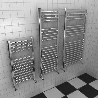3d heated towel rails